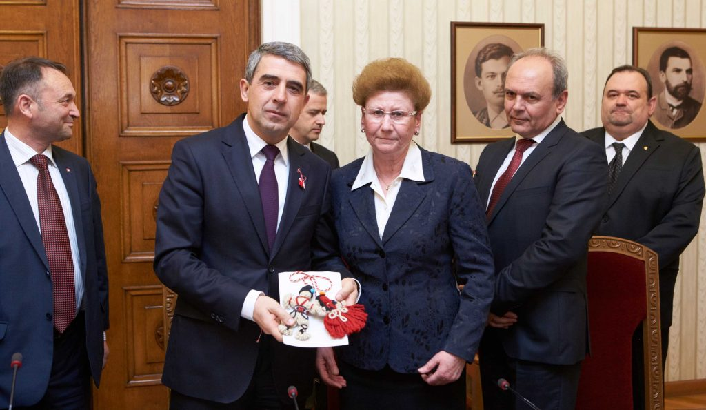 1 март 2016, среща с президента на Република България Росен Плевнелиев