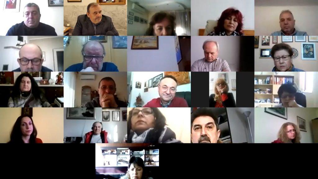 Онлайн среща с министъра на културата Боил Банов